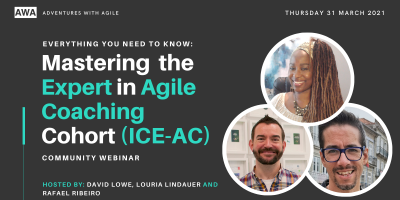 Mastering the Expert in Agile Coaching Cohort