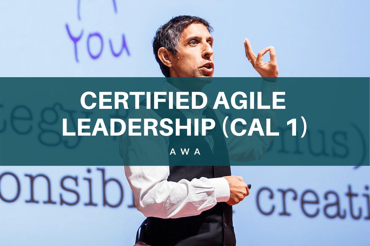 Certified Agile Leadership CAL 1